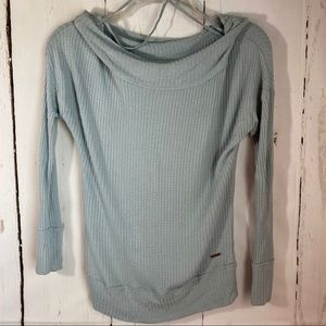 Lucky Brand Small Light Blue Waffle shirt